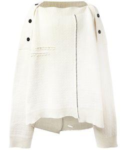 Raf Simons | Oversized Poncho Virgin Wool