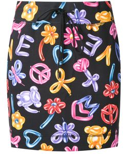 Love Moschino | Balloon Print Skirt Size 38