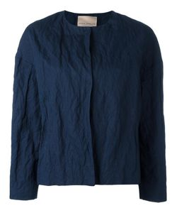Erika Cavallini | Wrinkled Jacket 42 Cotton/Metal