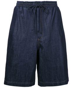 JUUN.J | Drawstring Waist Shorts 46 Cotton/Polyurethane
