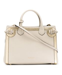 Burberry | House Check Shoulder Bag Cotton/Calf Leather/Metal