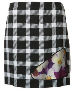 Christopher Kane | Check Skirt 40 Acetate/Silk/Virgin Wool/Polyester