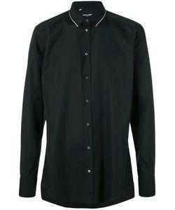 Dolce & Gabbana | Рубашка С Контрастной Отделкой На Воротнике