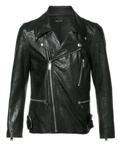 CHRISTIAN DADA | Zip Up Biker Jacket 48 Sheep