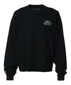 ENFANTS RICHES DEPRIMES | Logo Print Sweatshirt Small Cotton