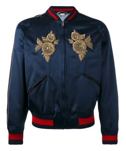 Gucci | Embroidered Bomber Jacket 46