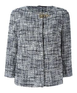 Fay | Tweed Jacket Large Cotton/Polyamide/Acrylic/Cupro