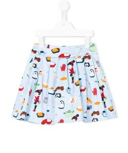 Simonetta | Kitchen Print Skirt 6 Yrs