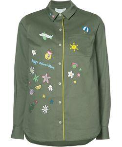 Mira Mikati | Longsleeve Printed Button Down Shirt