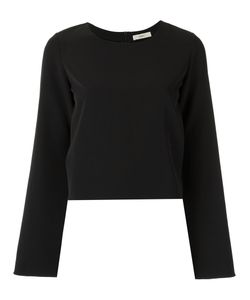 EGREY   Round Neck Blouse 36 Polyester/Spandex/Elastane