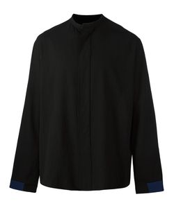 Haider Ackermann | Collarless Shirt Small Cotton