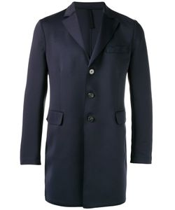 Harris Wharf London | Single-Breasted Overcoat