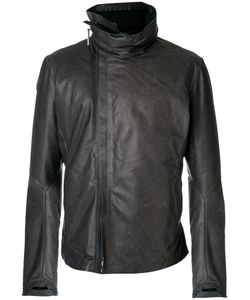 Isaac Sellam Experience | Leather Jacket Men Cotton/Calf Leather/Feather