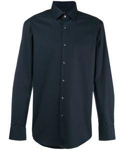 Hugo   Curved Hem Shirt