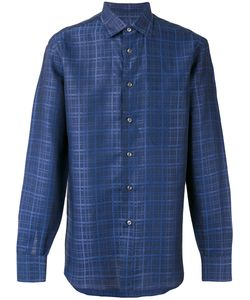 Brioni | Checked Shirt M