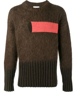 HELEN LAWRENCE | Chunky Ribbed Jumper Xl Lambs Wool/Mohair/Wool/Spandex/Elastane