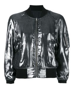 R13 | Bomber Jacket Small Silk/Cotton/Nylon/Spandex/Elastane