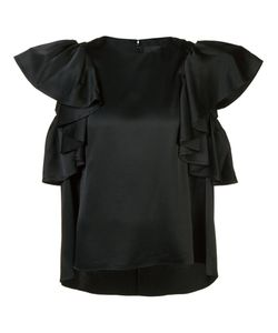 Co | Ruffle Sleeve Blouse Xs