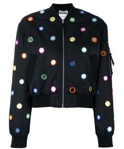 Moschino | Mirror Embroide Bomber Jacket 42 Polyamide/Polyester/Rayon