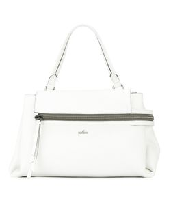 Hogan | Foldover Zip Tote Bag