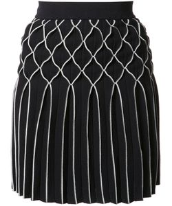 Jonathan Simkhai | Dimensional Diamond Skirt Xs Rayon/Nylon