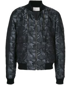 STRATEAS CARLUCCI | Camouflage Print Bomber Jacket Men
