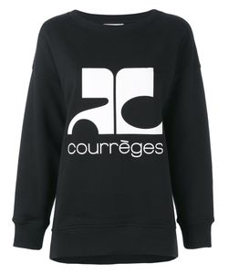 Courreges | Courrèges Logo Print Sweatshirt Size 3