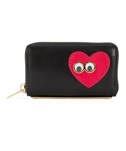Sophie Hulme   Googly Heart Leather Purse