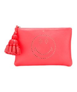Anya Hindmarch | Georgiana Smiley Clutch Calf Leather