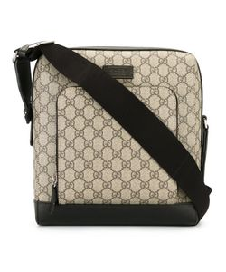 Gucci | House Pattern Messenger Bag Leather