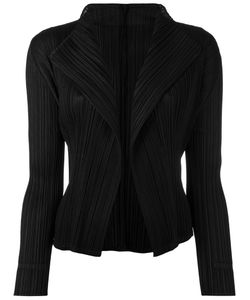 PLEATS PLEASE BY ISSEY MIYAKE   Pleated Open Front Cardigan