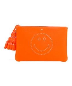 Anya Hindmarch | Smiley Clutch Leather