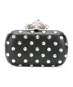 Alexander McQueen | Piercing Skull Box Clutch Leather