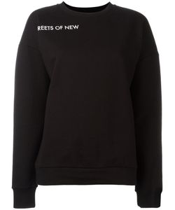 Each X Other | Sleeve Lettering Sweatshirt Medium Cotton