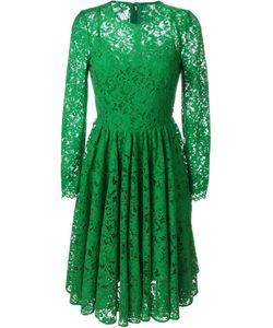 Dolce & Gabbana | Расклешенное Кружевное Платье