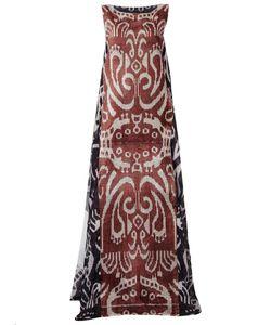 Afroditi Hera | Платье Без Рукавов С Абстрактным Принтом