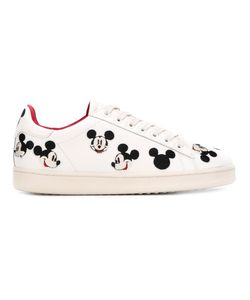 MOA MASTER OF ARTS   Rosso Embroidered Sneakers