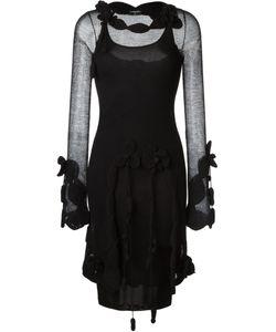 Chanel Vintage | Ажурное Сетчатое Платье