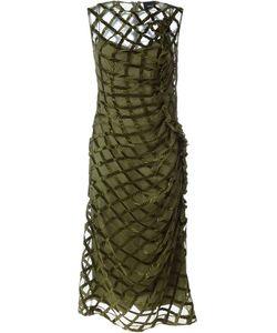 Simone Rocha | Платье С Сетчатым Верхним Слоем