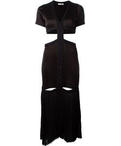 Barbara Casasola | Плиссированное Платье С Вырезными Деталями