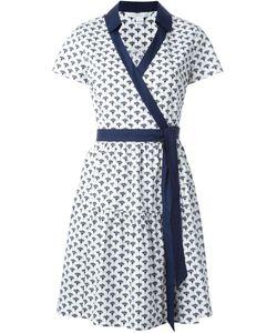 Diane Von Furstenberg | Платье С Запахом И Принтом Peace Palm