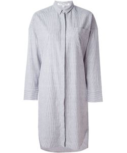 Valentine Gauthier | Striped Bedouin Oversized Shirt Dress