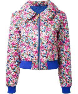 DRESS CAMP | Стеганая Куртка С Цветочным Принтом