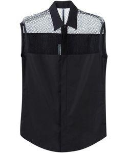 Todd Lynn | Рубашка Без Рукавов С Кружевной Панелью
