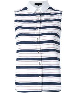 LOVELESS | Striped Sleeveless Shirt