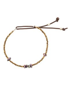 CATHERINE MICHIELS   Bohemian Glass Beaded Bracelet