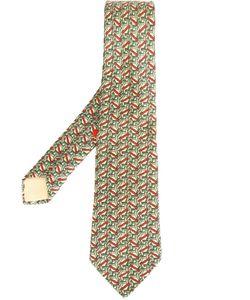 Hermès Vintage | Галстук С Геометрическим Принтом