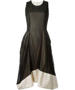 Comme Des Garcons | Многослойное Шифоновое Платье