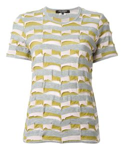 JUNYA WATANABE COMME DES GARCONS | Panel Striped T-Shirt