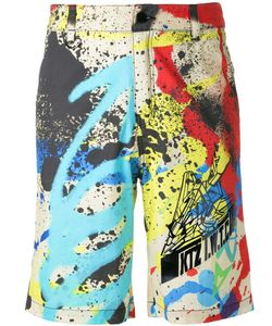 Ktz | Graffiti Print Shorts